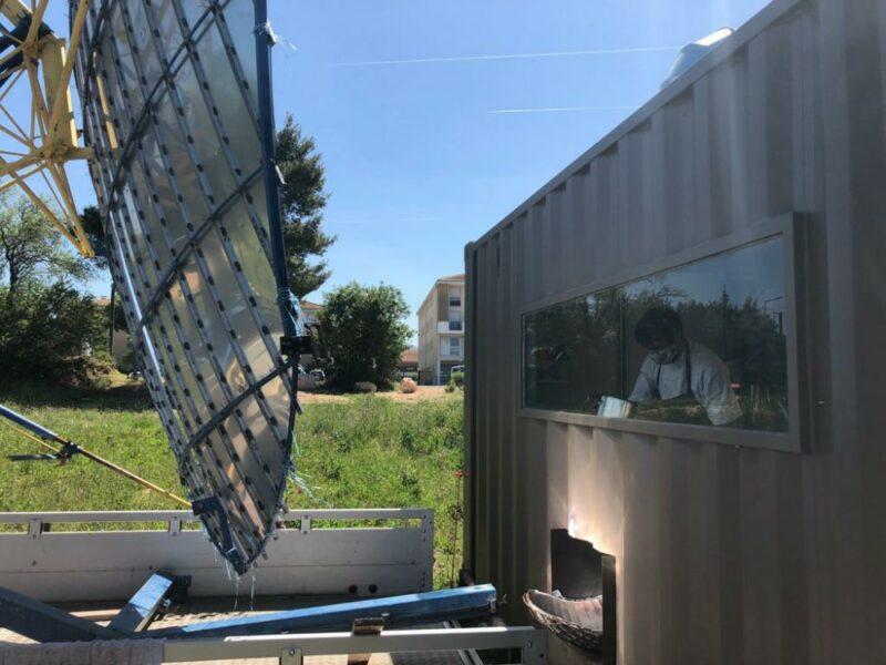 Fourneau solaire Le Présage